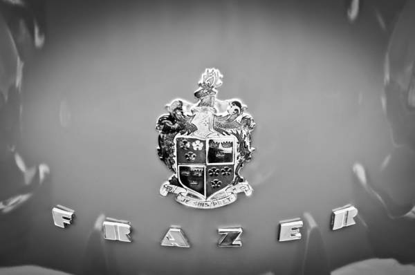 Photograph - 1947 Kaiser-frazer Emblem by Jill Reger