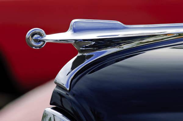 Photograph - 1947 Packard Hood Ornament by Jill Reger