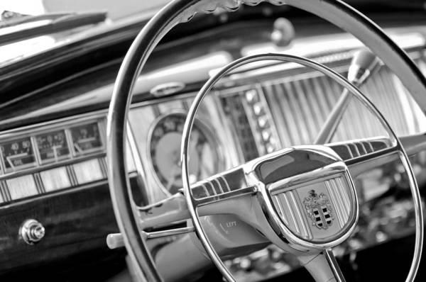 Photograph - 1948 Dodge Steering Wheel by Jill Reger