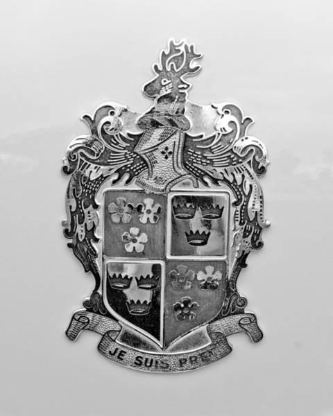Photograph - 1948 Kaiser-frazer Emblem by Jill Reger