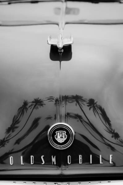 Photograph - 1948 Oldsmobile Hood Ornament - Emblem by Jill Reger