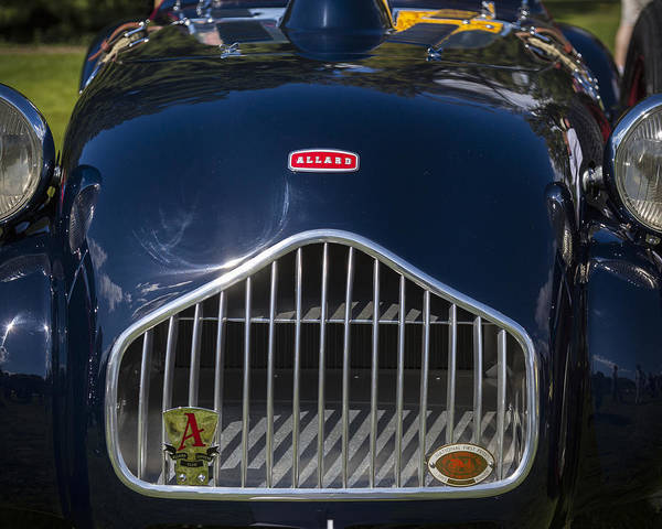 Photograph - 1950 Allard J2 Roadster by Jack R Perry