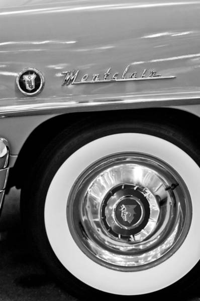 Photograph - 1951 Mercury Montclair Convertible Wheel Emblem by Jill Reger