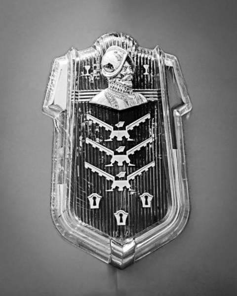 Photograph - 1952 Desoto Emblem by Jill Reger