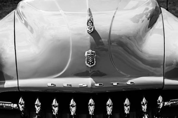 Photograph - 1952 Desoto Grille - Hood Ornament - Emblems by Jill Reger