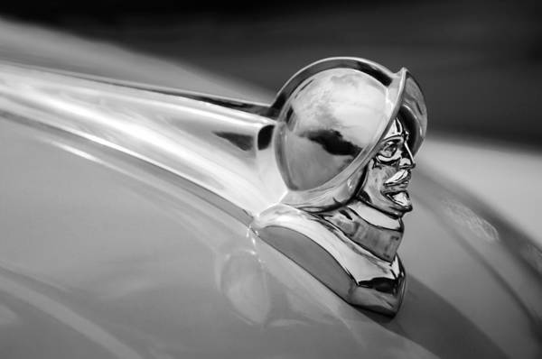 Photograph - 1952 Desoto Hood Ornament by Jill Reger
