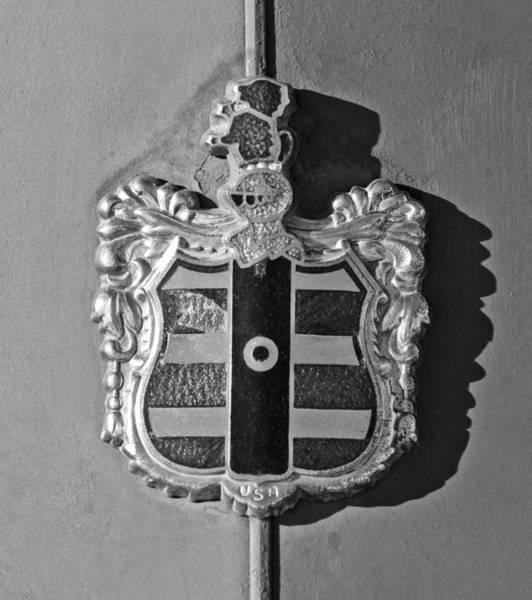 Photograph - 1952 Dodge Emblem by Jill Reger