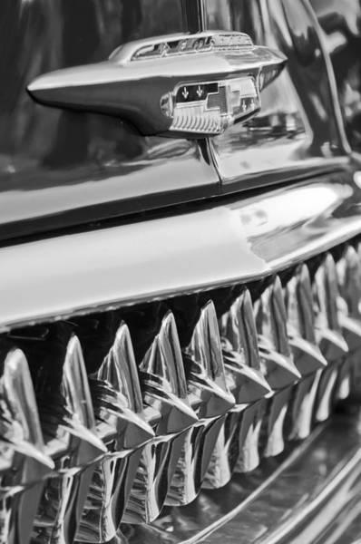 Photograph - 1953 Chevrolet Grille Emblem by Jill Reger