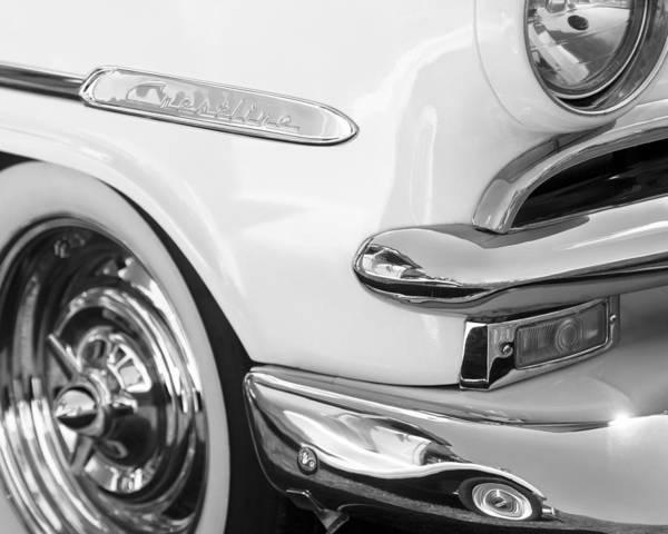 Convertible Photograph - 1953 Ford Crestline Convertible Emblem by Jill Reger