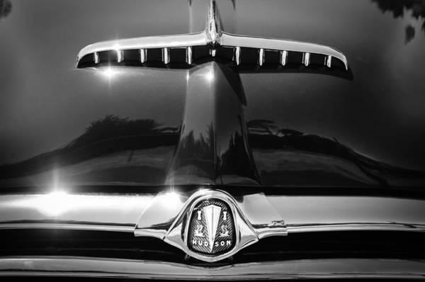 Convertible Photograph - 1953 Hudson Convertible Grille Emblem by Jill Reger