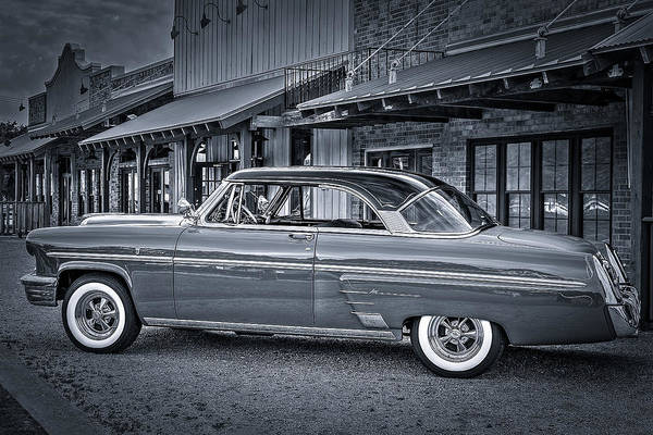 Photograph - 1953 Mercury Monterey En Francais by David Morefield