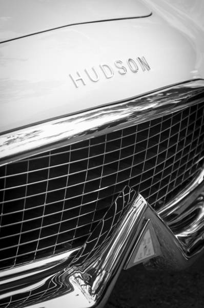 Touring Photograph - 1954 Hudson Italia Touring Coupe Grille Emblem by Jill Reger