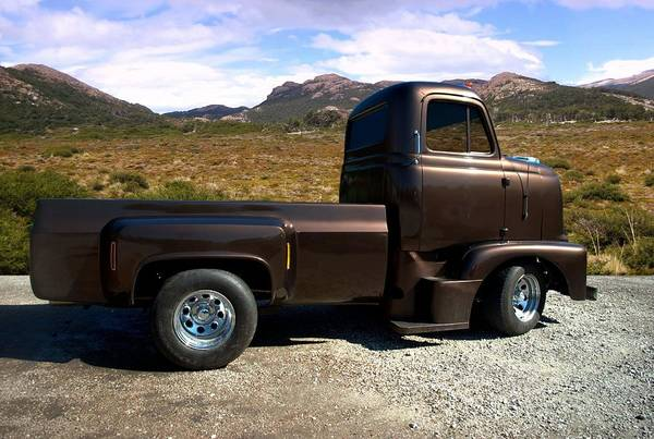 Photograph - 1954 International Harvester Coe Pickup Truck by Tim McCullough