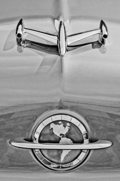 Photograph - 1954 Oldsmobile Super 88 Hood Ornament by Jill Reger