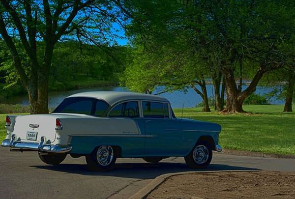 Photograph - 1955 Chevrolet Bel Air by Tim McCullough