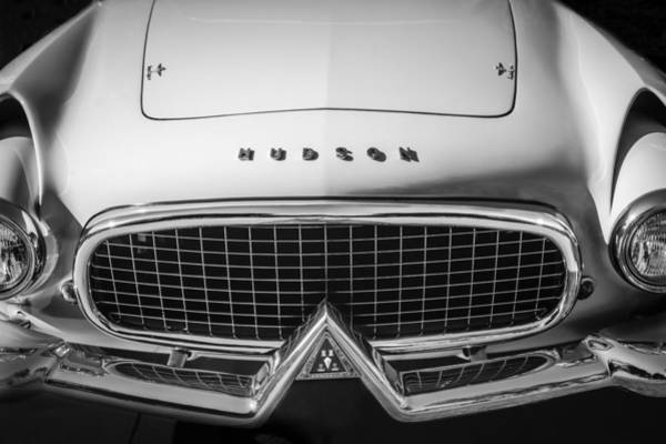 Photograph - 1955 Hudson Italia Grille Emblem by Jill Reger