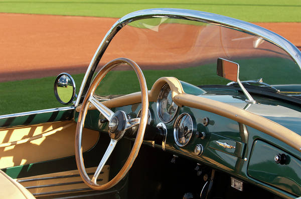 Photograph - 1955 Lancia Aurelia B24 Spyder America Roadster by Jill Reger
