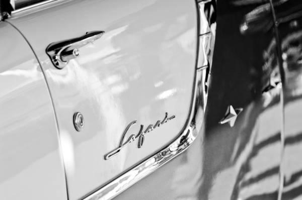 Photograph - 1955 Pontiac Safari Station Wagon Emblem by Jill Reger