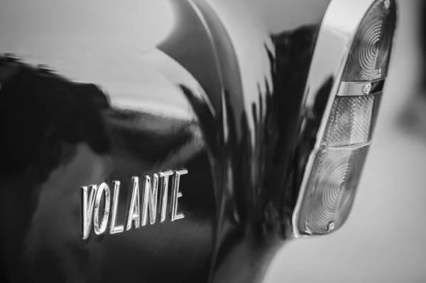 Photograph - 1956 Aston Martin Short Chassis Volante Taillight Emblem by Jill Reger