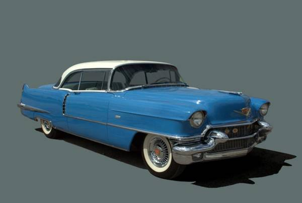 Photograph - 1956 Cadillac Coupe Deville by Tim McCullough
