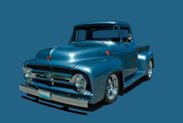 Photograph - 1956 Ford F100 Pickup Truck by Tim McCullough
