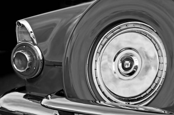 1956 Ford Thunderbird Photograph - 1956 Ford Thunderbird Taillight by Jill Reger