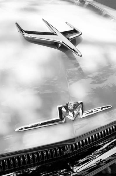 Photograph - 1956 Mercury Monterey Hood Ornament - Emblem by Jill Reger