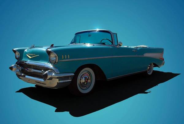 Photograph - 1957 Chevrolet Convertible by Tim McCullough