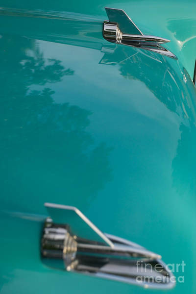 Photograph - 1957 Chevy Convertible  by Mark Dodd