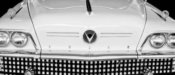 Photograph - 1958 Buick Hood Emblem by Jill Reger
