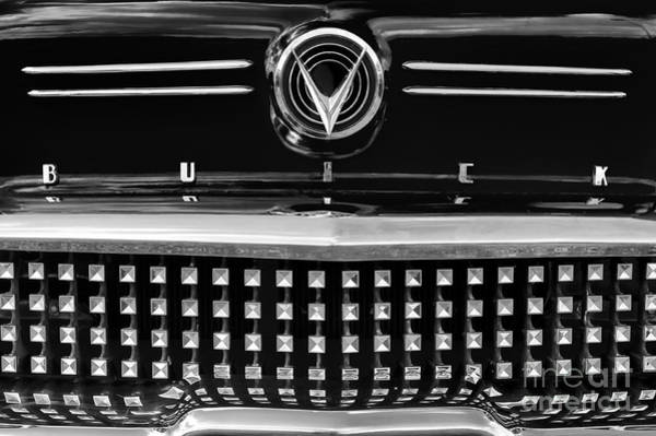 General Motors Company Wall Art - Photograph - 1958 Buick Special Monochrome by Tim Gainey