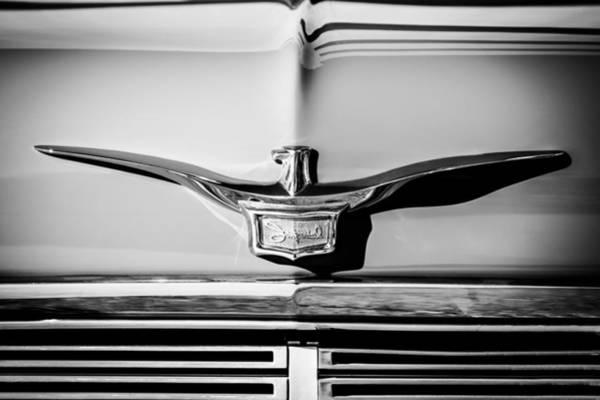 Photograph - 1958 Chrysler Imperial Crown Convertible Emblem by Jill Reger