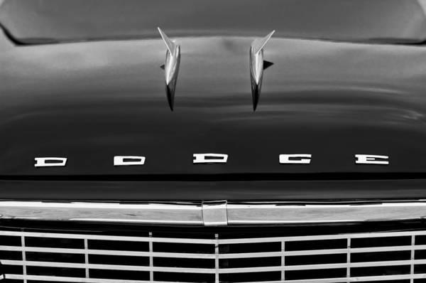Photograph - 1958 Dodge Coronet Super D-500 Convertible Hood Ornament by Jill Reger