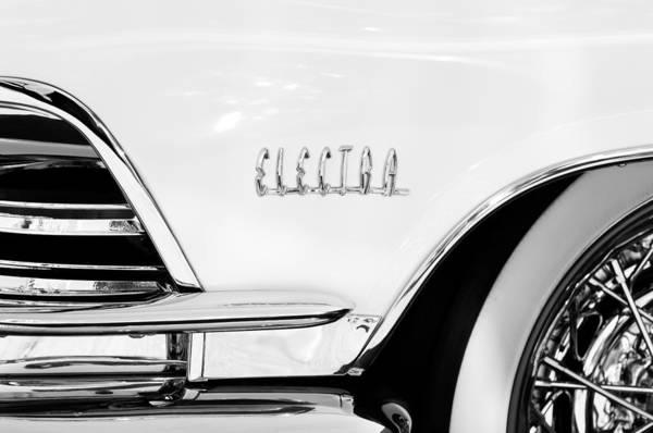 Photograph - 1959 Buick Electra Emblem by Jill Reger
