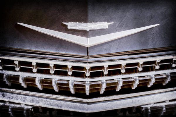 Eldorado Photograph - 1959 Cadillac Eldorado Grille Emblem by Jill Reger
