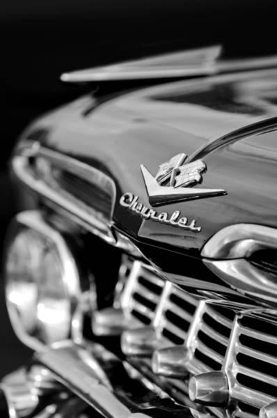 Photograph - 1959 Chevrolet Grille Emblem by Jill Reger