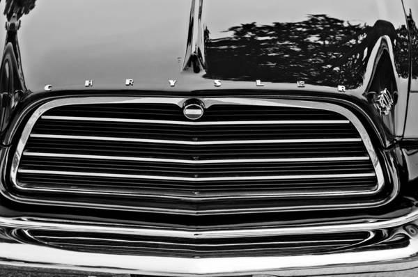 Photograph - 1959 Chrysler 300 Grille Emblem by Jill Reger