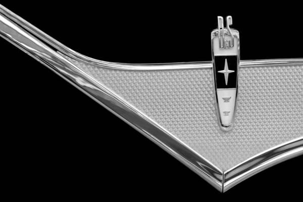 Photograph - 1959 Desoto Adventurer Emblem by Jill Reger