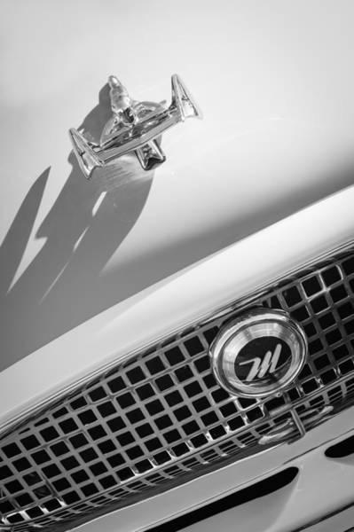 Photograph - 1959 Nash Metropolitan 1500 Convertible Hood Ornament - Grille Emblem by Jill Reger