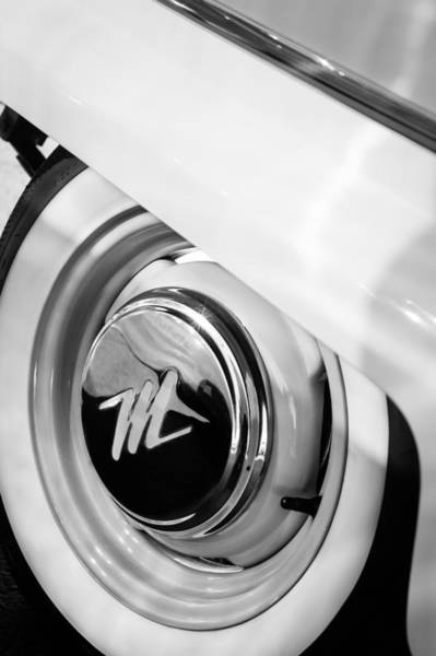 Photograph - 1959 Nash Metropolitan 1500 Convertible Wheel Emblem by Jill Reger
