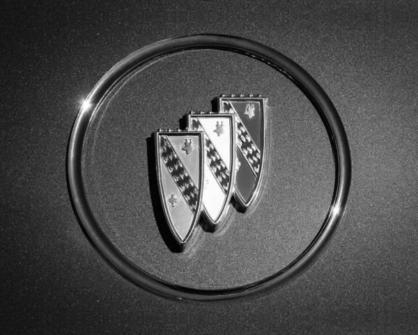 Photograph - 1960 Buick Lesabre Series 4400 Convertible Emblem by Jill Reger