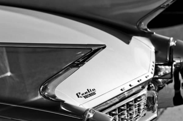 Eldorado Photograph - 1960 Cadillac Eldorado Taillights by Jill Reger