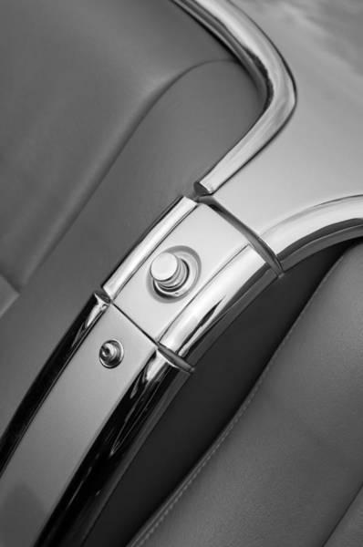 Compartments Photograph - 1960 Chevrolet Corvette Compartment by Jill Reger