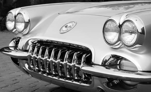Photograph - 1960 Chevrolet Corvette Grille by Jill Reger