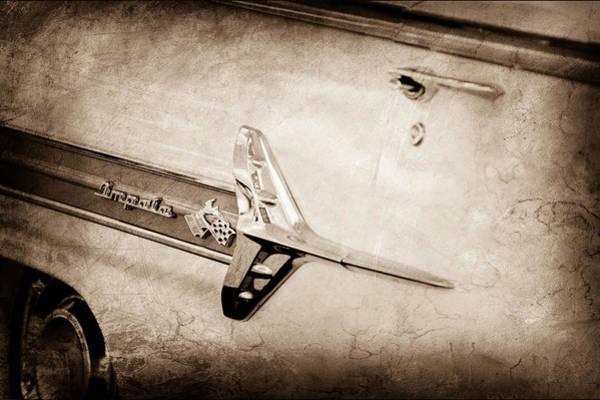 Impala Photograph - 1960 Chevrolet Impala Emblem by Jill Reger