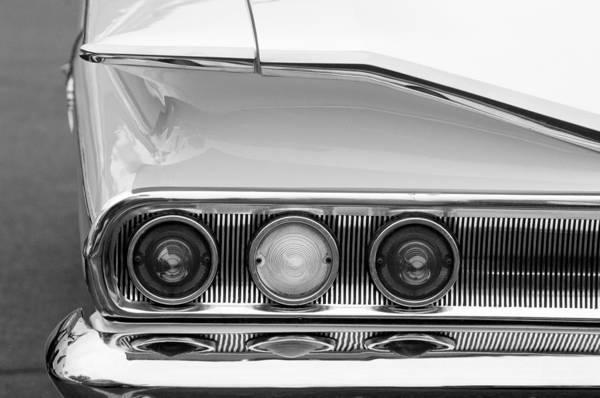 Tail Light Photograph - 1960 Chevrolet Impala Tail Lights by Jill Reger