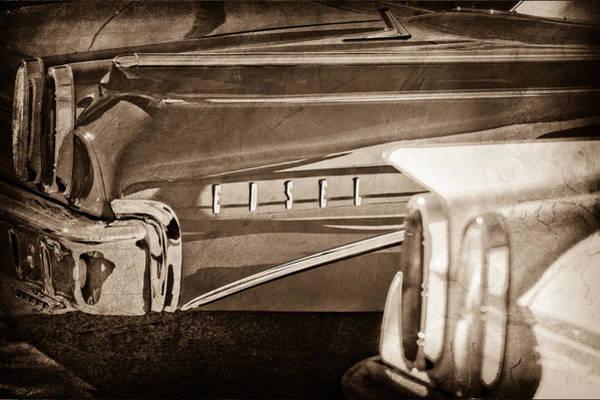 Photograph - 1960 Edsel Taillight by Jill Reger