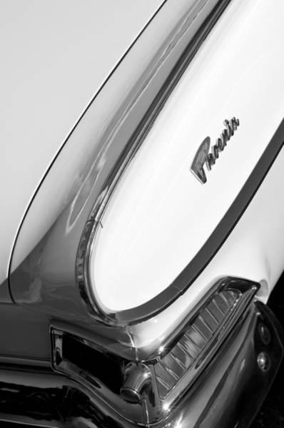Photograph - 1961 Dodge Phoenix Taillight by Jill Reger