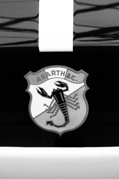 Photograph - 1961 Fiat-abarth 1000 Bialbero Gt Competition Coupe Emblem by Jill Reger