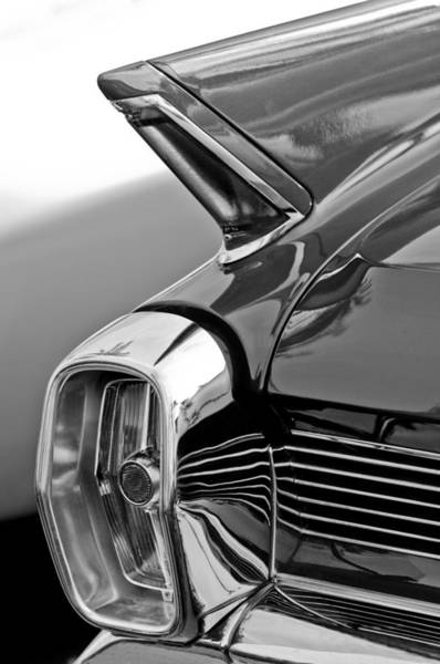 Eldorado Photograph - 1962 Cadillac Eldorado Taillight by Jill Reger